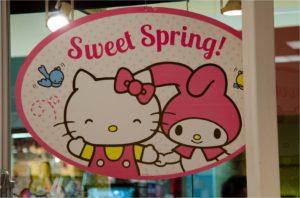 Hello Kitty Sign